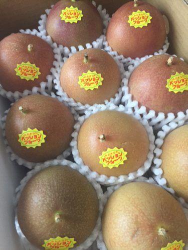 パッションフルーツのおいしい楽しみ方 黒糖焼酎割り!