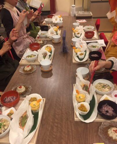 2/4薬膳うちごはんクッキングレッスン無事終了!