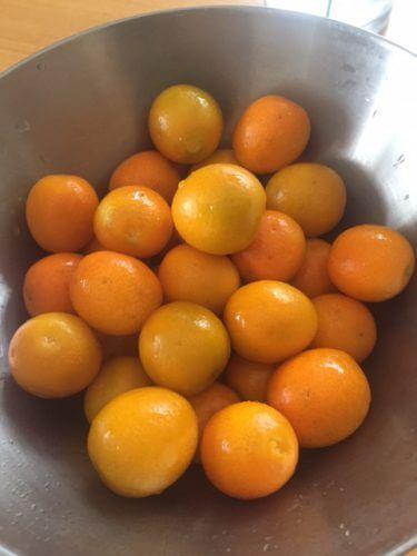 風邪予防に「金柑の甜菜煮」