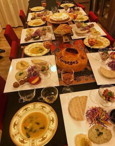 薬膳イスラエル料理(梅雨・脾胃を養う)
