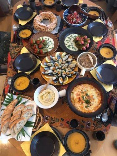 6月のレッスンは脾胃を養う、薬膳トルコ料理